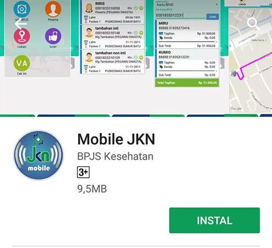 Install Mobile JKN