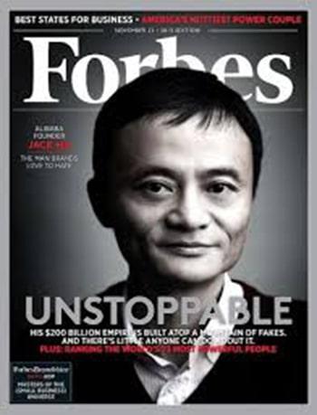 Unstoppable, Kata Yang Tepat Dari Forbes Untuk Jack Ma