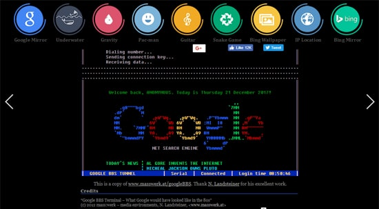 Keyword Google Terminal