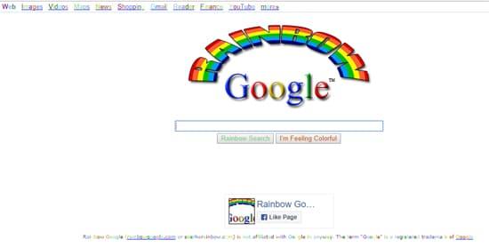 Kyeword Google Rainbow
