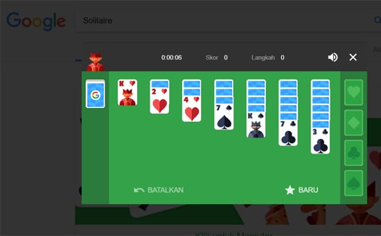 Keyword Solitaire