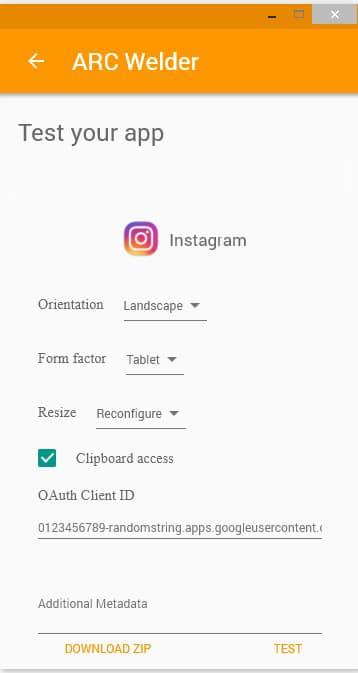 Konfigurasi Pada Aplikasi