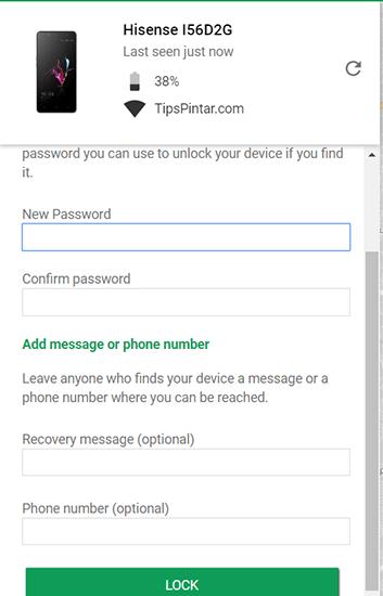 Lock Smartphone