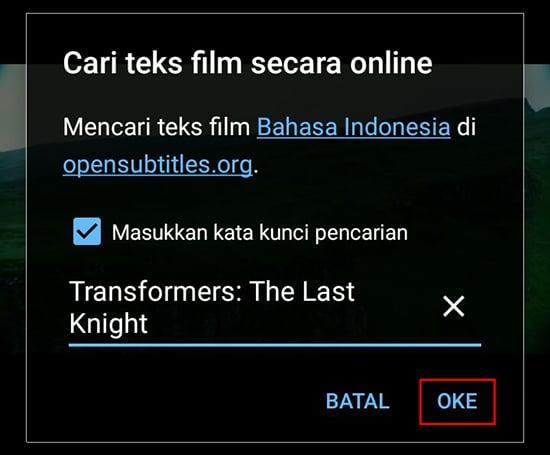 Masukan Judul Film