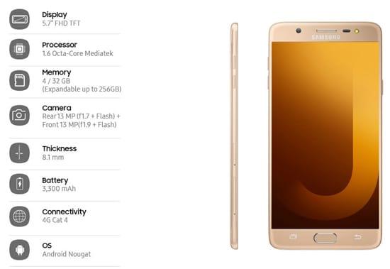 Spesifikasi Samsung