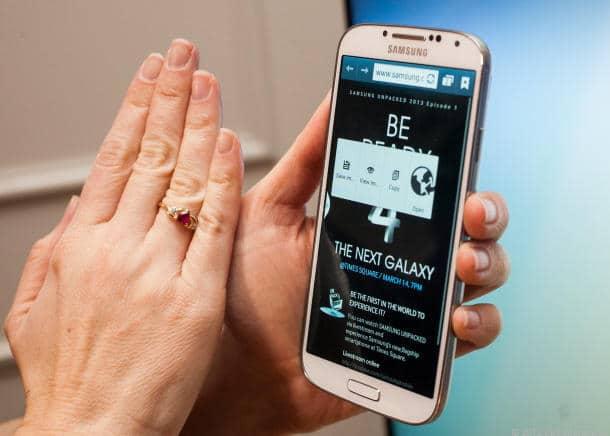 Layar Samsung