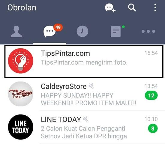 Pilih Chat