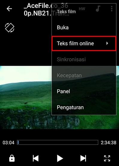 Pilih Teks film online