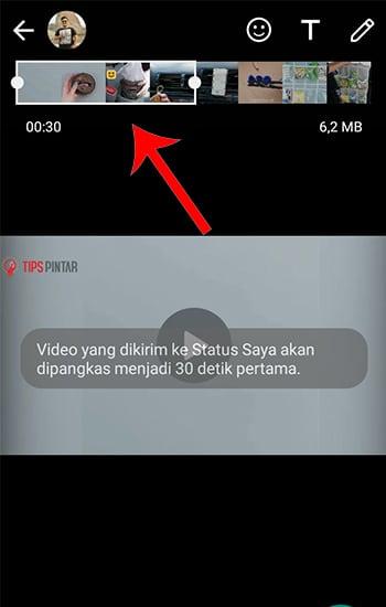 Memotong Video Bagian Peratama