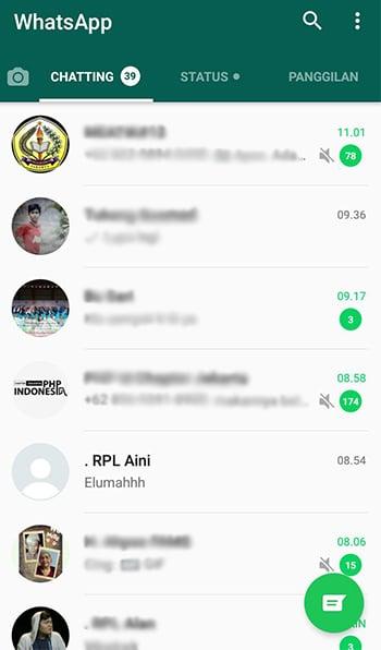 Cara Menyembunyikan Pesan WhatsApp Tanpa Menghapusnya 6