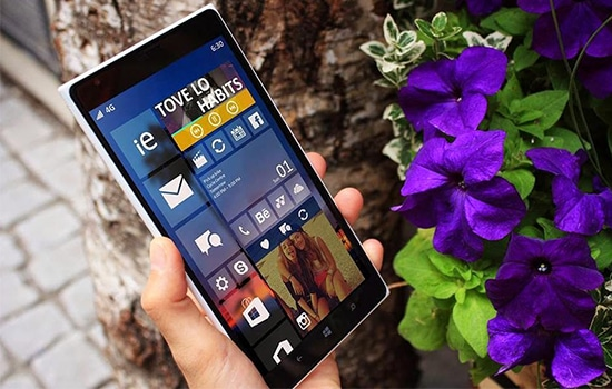 Smartphone Sistem Operasi Windows