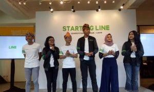Incar Anak Muda, LINE Luncurkan Program STARTING LINE 11
