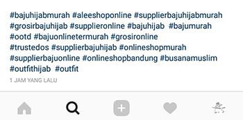 Hastag Instagram