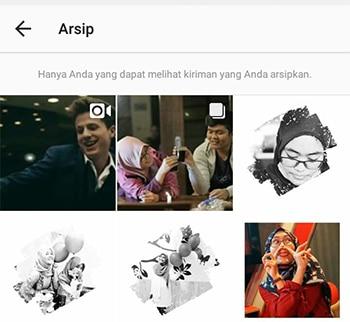 Sembunyikan Foto Instagram