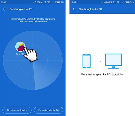 Menyambungkan Android ke PC