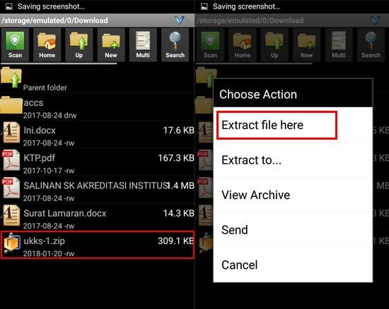 Ekstrak File