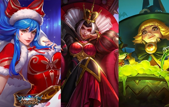 Eudora + Aurora + Lolita - Hero Mobile Legends