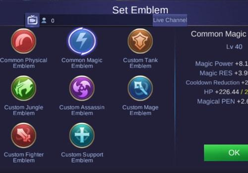 Gunakan Emblem yang Benar