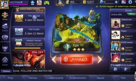 7 Kesalahan Fatal Saat Main Ranked di Mobile Legends 15
