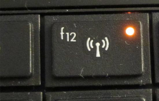 Tombol WiFi Mati