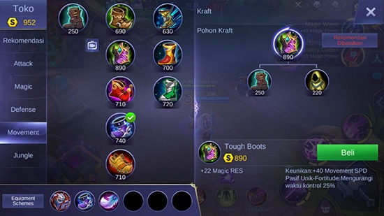 Tough Boots - Item Mobile Legends