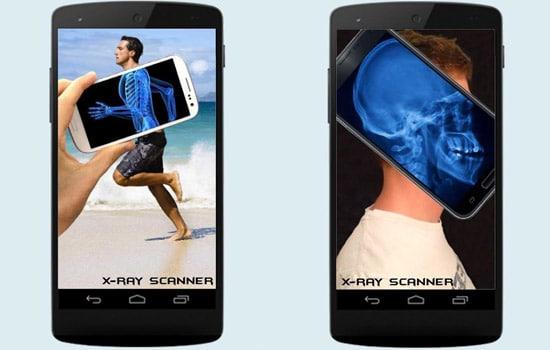 Aplikasi X-ray Body Scanner Simulator