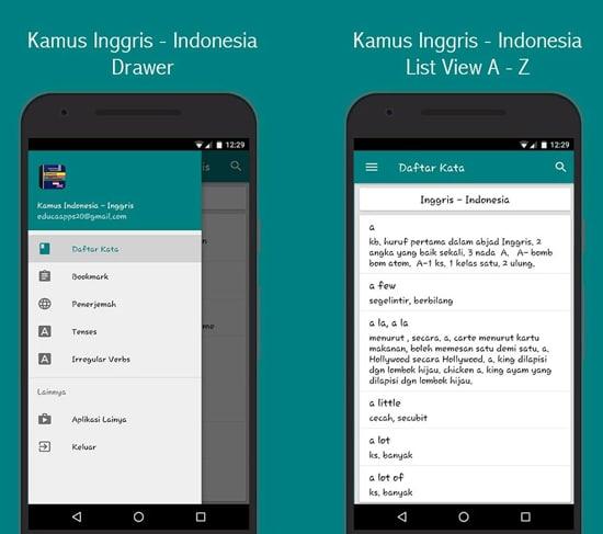 Kamus Inggris - Indonesia Offline