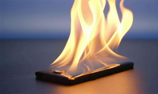 Baterai Smartphone Panas