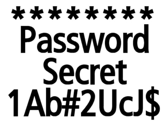 Password Simbol