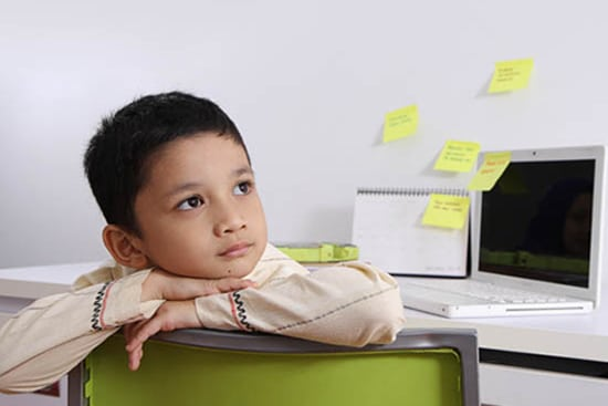 Sulit berkonsentrasi dapat menurunkan daya ingat anak.