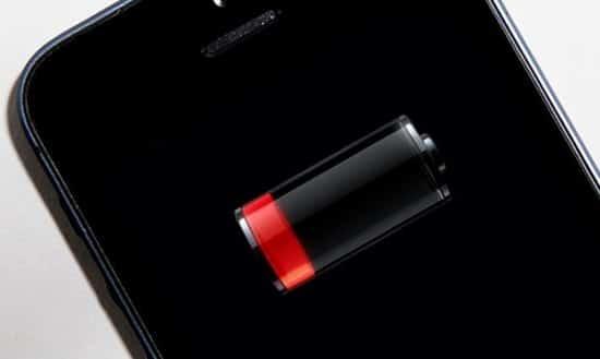 Baterai Smartphone Kosong