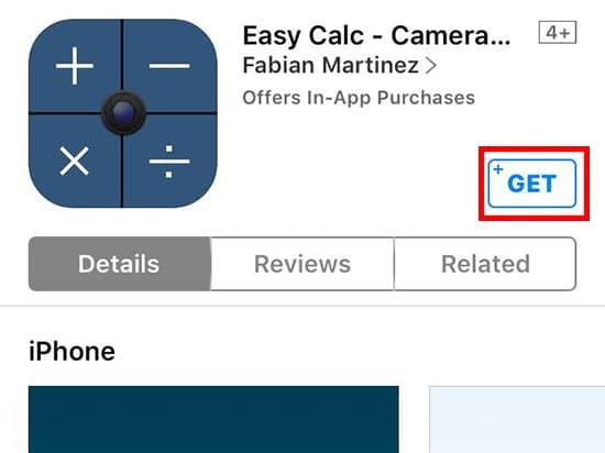Install Easy Calc