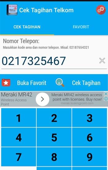 Masukan Nomer Telepon