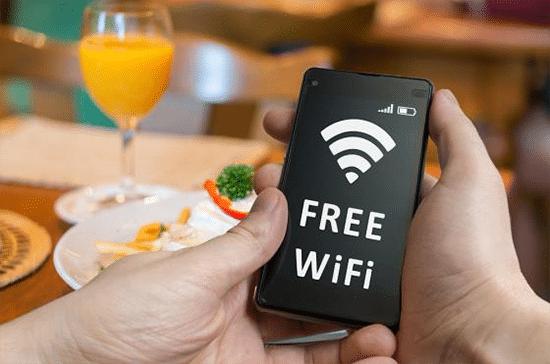 Menggunakan WiFi