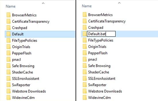 Merubah Nama File