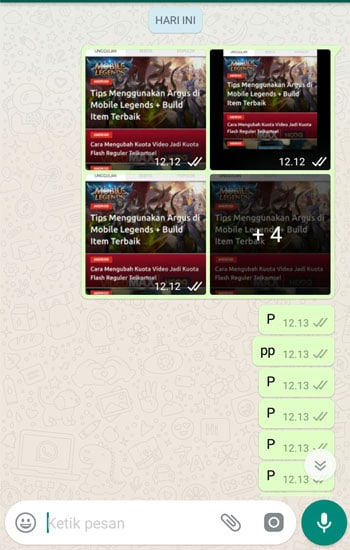 Objek yang Ingin di Screenshot