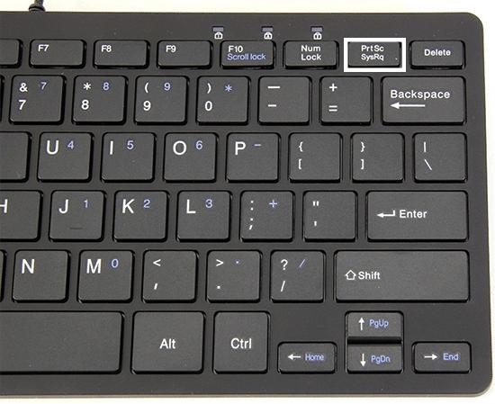 Keyboard 'PrtSC'