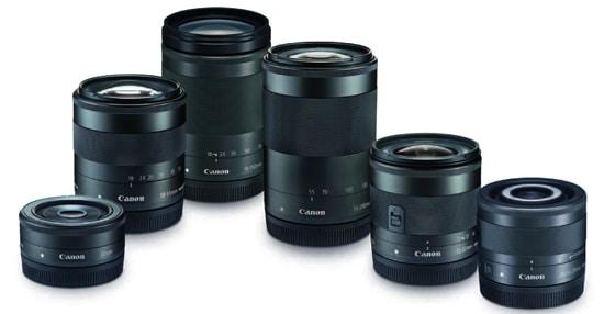 Lensa Kamera Mirrorless Canon