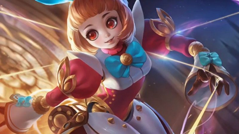 Wallpaper Angela Mobile Legends