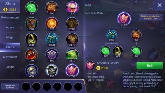 Athena's Shield - Item Mobile Legends