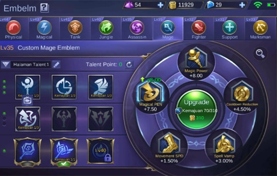 Emblem Mage - Emblem Mobile Legends