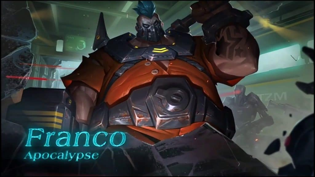 Wallpaper Franco Mobile Legends