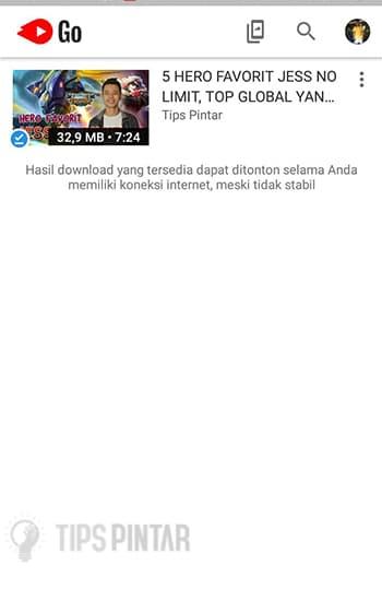 Hasil Download