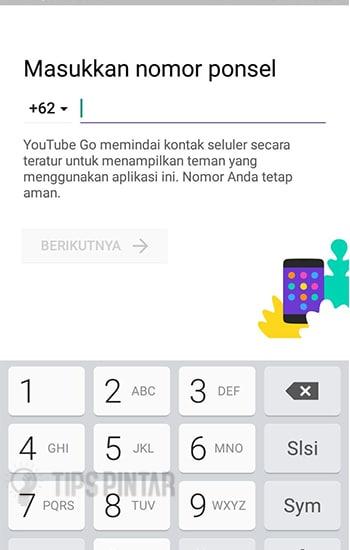 Masukan Nomor Telepon