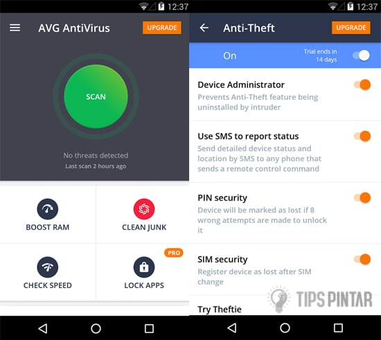 AVG AntiVirus for Android Security