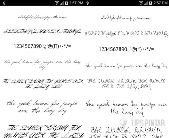 Fonts for FlipFont Love Fonts