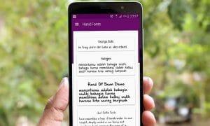 10 Aplikasi Font untuk Android Terbaru Tanpa Root 13