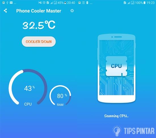 Phone Cooler Master, CPU Cooler Master