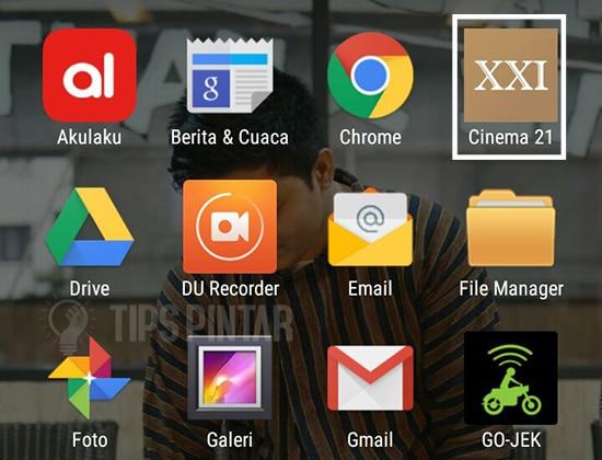 Buka Aplikasi CInema 21