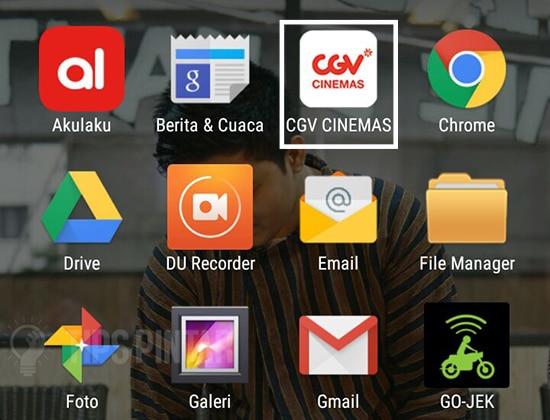 Buka Aplikasi CGV